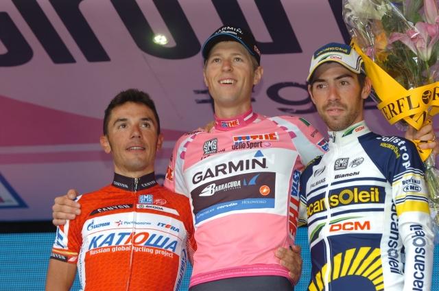 Giro: Hesjedal na vrhu, Italijani brez odra (fotogalerija)