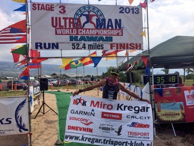 Miro Kregar svetovni prvak v Ultraman triatlonu