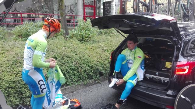 Primož Roglič: Mirno izpeljati menjavo koles