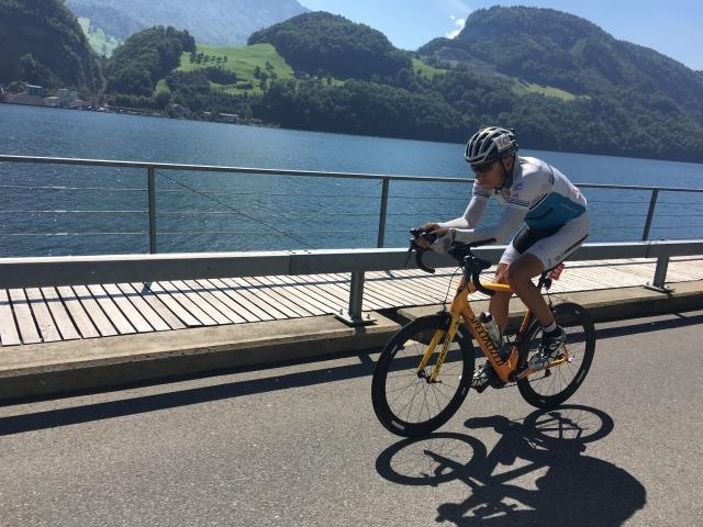 Marko Baloh uspešen v Švici