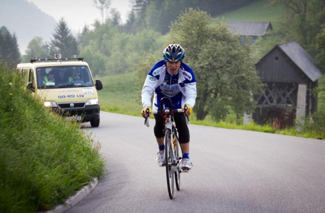 Zmagovalec Dosa na švicarskih prelazih!