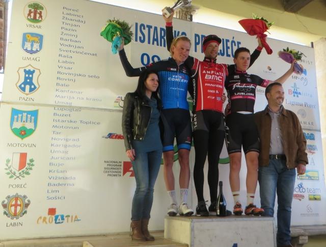 Matej Mugerli dobil etapo, Tadej Pogačar tretji