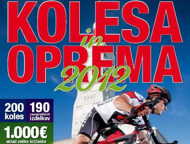 Katalog koles in opreme 2012
