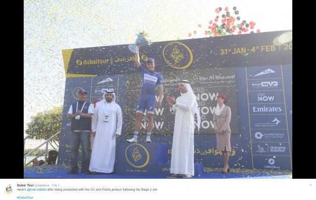 Veter odpihnil etapo v Dubaju