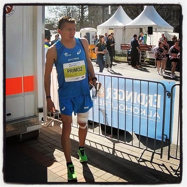 Kobe odstopil na maratonu v Hannovru