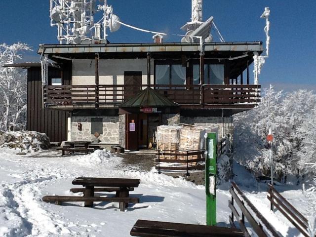 Planinska koča na Krimu