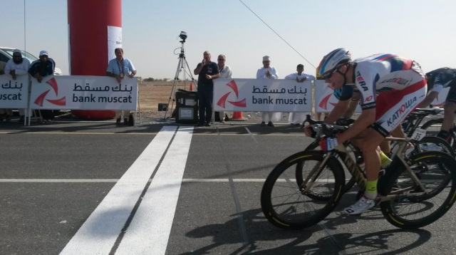 Grega Bole spet tretji, Kristoffu sprint pred težjimi etapami