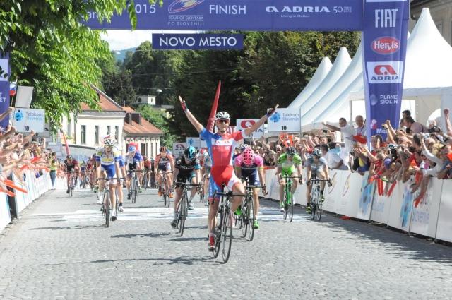 Europe Tour: Marko Kump in Primož Roglič tik pod vrhom