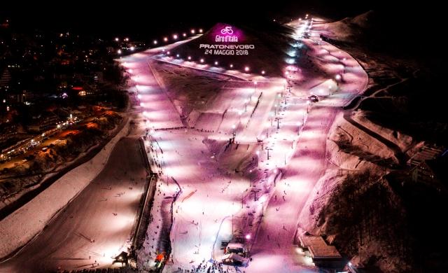 101 dan pred 101. Girom Italija odeta v rožnato