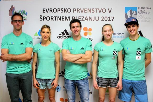 Slovenska enajsterica v boj za evropsko športnoplezalno lovoriko