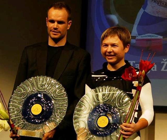 Najboljši 2014: Luka Mezgec in Tanja Žakelj