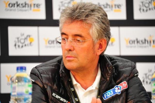 Šef ekipe FDJ Marc Madiot zahteva odhod Briana Cooksona