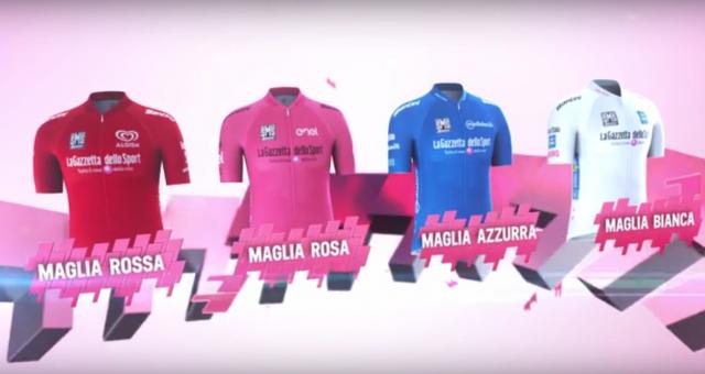 Giro razkril štiri najbolj zaželene majice (VIDEO)