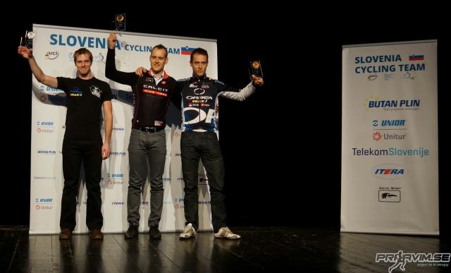 Podelili nagrade najboljšim v gorskem kolesartvu