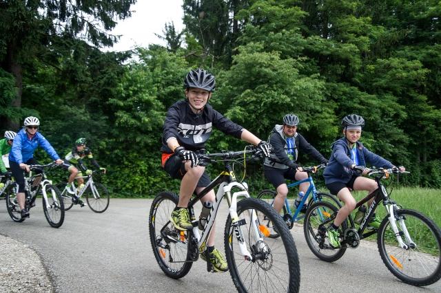 1. Scottov kolesarski dan uspel