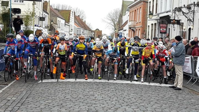 Mladinci v Belgiji uspešno začeli sezono, v Italiji dirka odpovedana