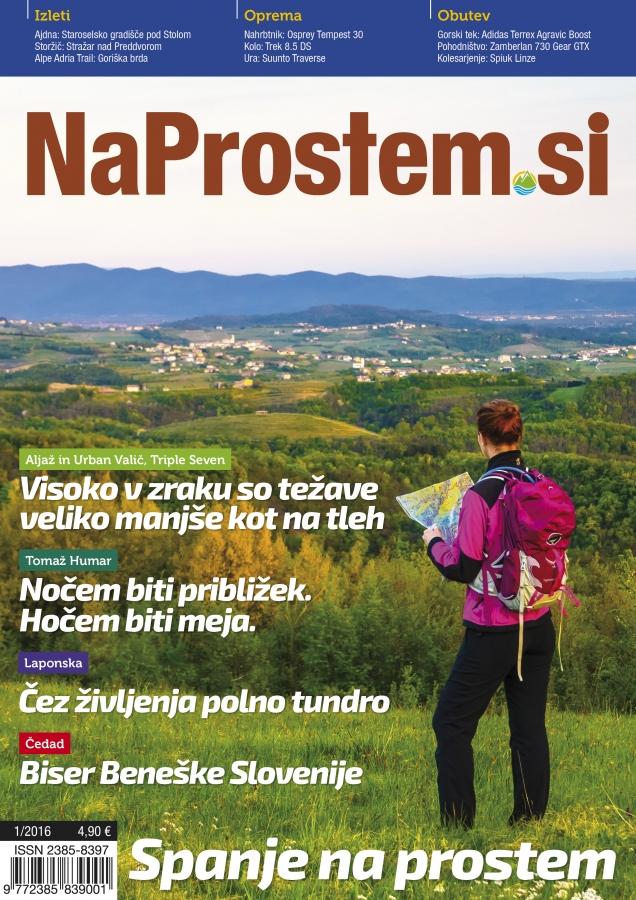 Turistična pravljica - revija NaProstem 01-2016