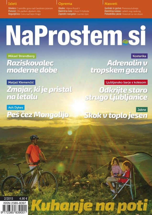 Poslanstvo pustolovskega duha - revija NaProstem 02-2015