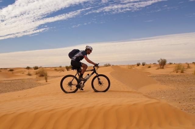 Bajkanje po puščavi: odkljukano!