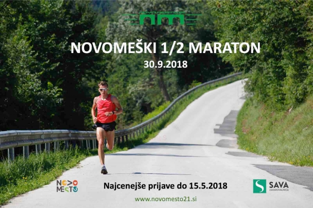 V jeseni premierna izvedba Novomeškega pol maratona