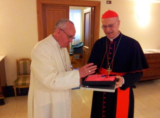 Od papeškega blagoslova do kolumbijske ofenzive (foto)