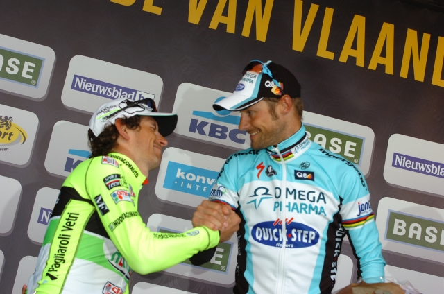 Boonen: Pozzato je bil mogoče močnejši, v sprintu pa ni imel možnosti!