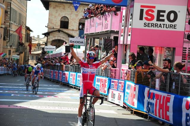 Rodriguez se je poigral v Italiji, Sagan v Ameriki