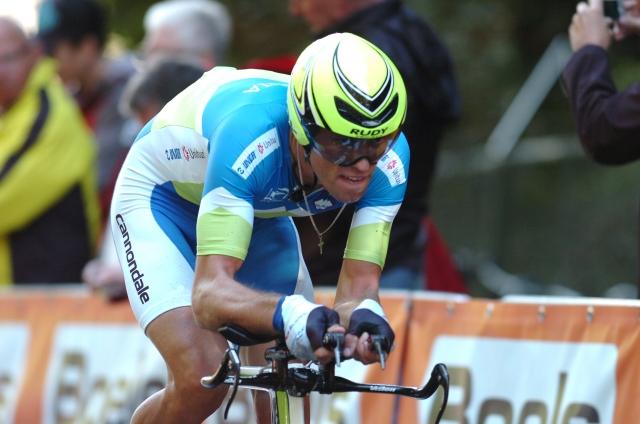 Kristjan Koren ob 13:45, zadnja Cancellara in Martin