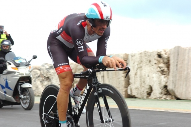 Fabian Cancellara na velodrom po nov rekord