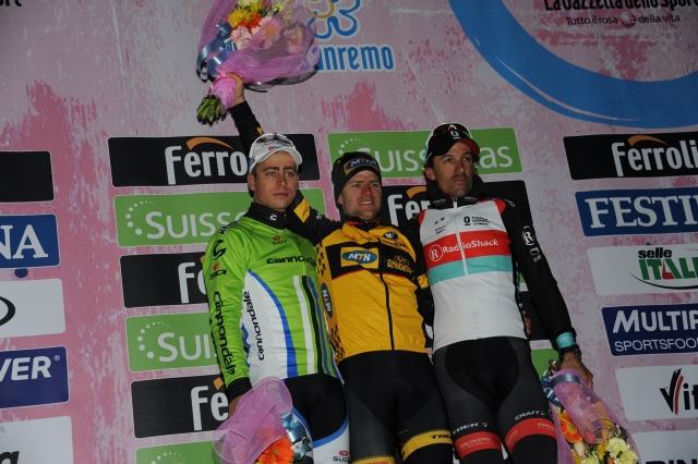 Ciolek presrečen, Sagan jezen, Cancellara vesel, vsi