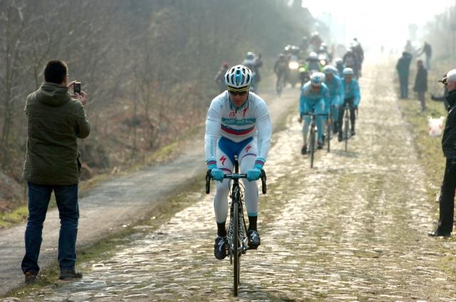 Borut Božič: To je Pariz-Roubaix. To je nekaj posebnega! (video in foto)