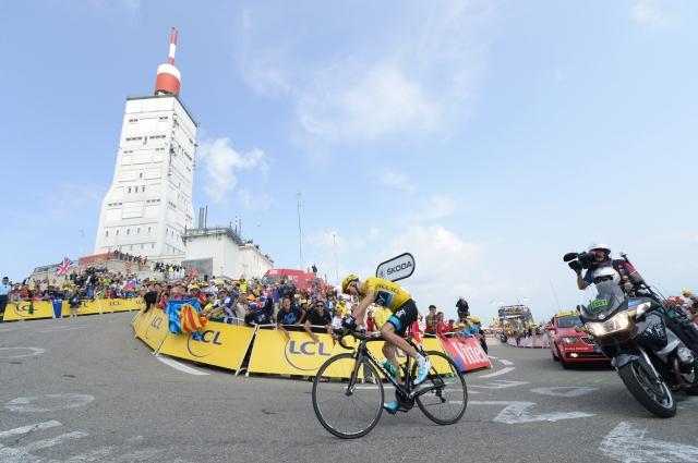 Odkrivanje trase Toura 2016 ... vrača se Mont Ventoux