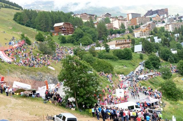 Vzponi Toura 2015: Od Huya do Alp d'Hueza