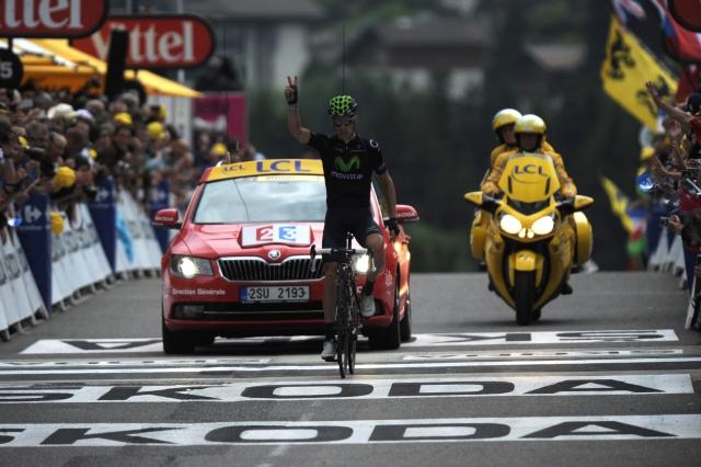 Rui Costa še drugič do zmage, Froome zanesljivo v rumenem, Koren padel (foto)