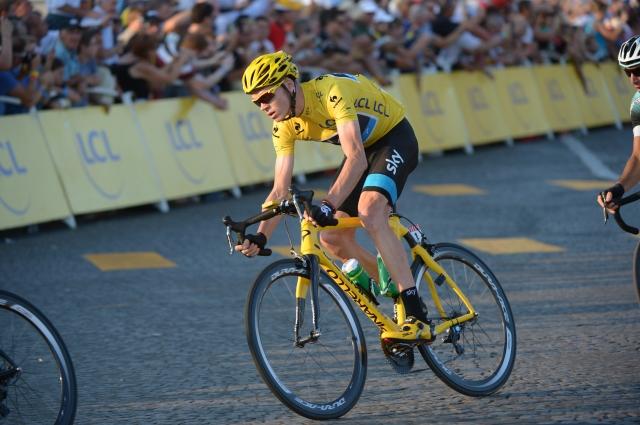 Christopher Froome: Po naslov svetovnega prvaka