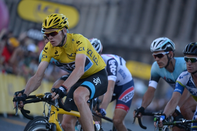 Zlato kolo: Chris Froome ugnal Vincenza Nibalija in Petra Sagana