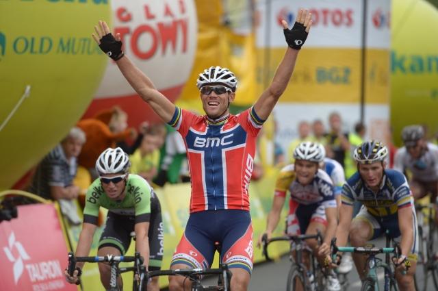 Na dirki po Poljski, Grega Bole v tretji etapi četrti