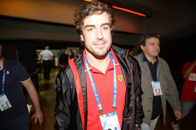Fernando Alonso: Voziti je lažje kot kolesariti