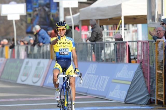 Pestra sobota: Danec blesti v naši bližini, Contador v Italiji in Slagter v Franciji