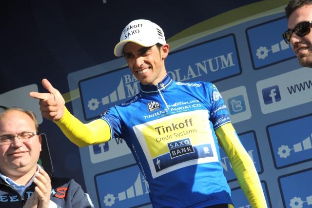 Alberto Contador: Usta sem držal zaprta in težo imel pod nadzorom