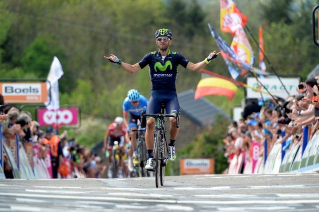 Valonska puščica v znamenju Alejandra Valverdeja in padca v zaključku