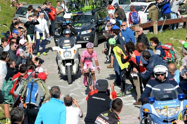 Nairo Quintana potrdil premoč na gorski uri resnice: Zmaga za