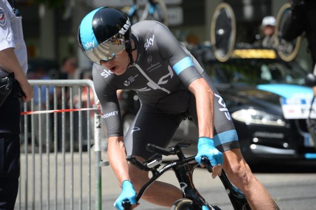 Vuelta: Christopher Froome padel na treningu