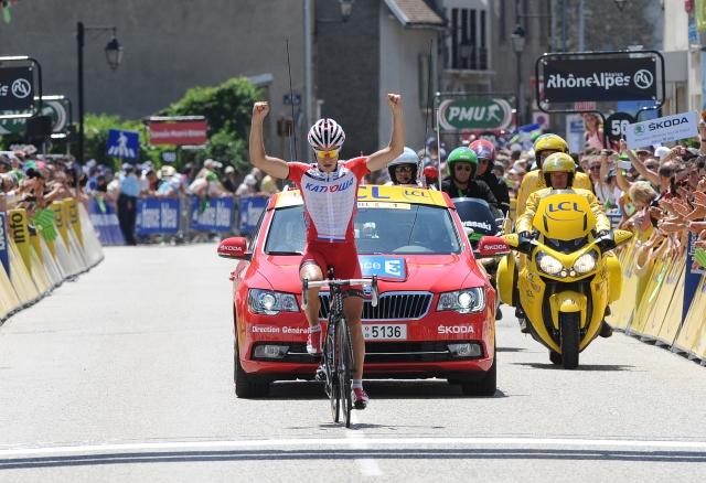 Simon Špilak dobil etapo v Franciji!
