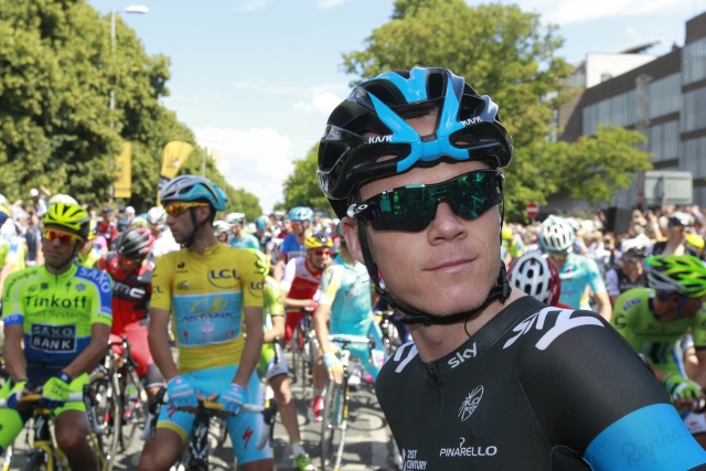 Andy Schleck odstopil, Chris Froome padel