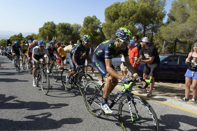 Alejandro Valverde dobil boj velikih. Froome in Contador tik za njim.