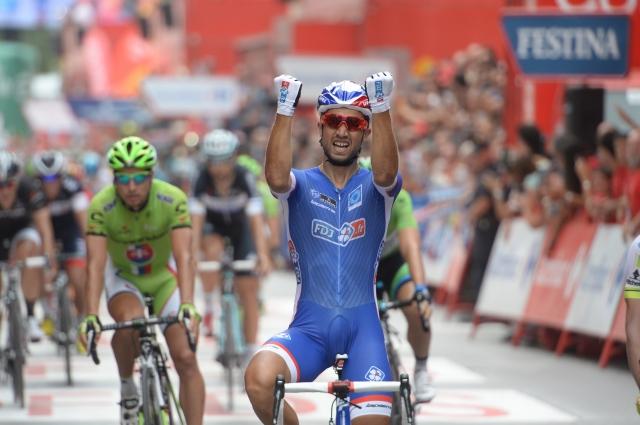 Nacer Bouhanni potrdil premoč, mladinec Penko najboljši v Italiji
