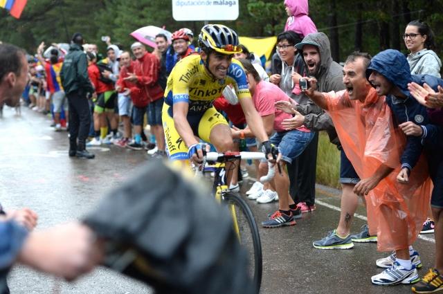 Contador izjemno napadalen, Quintana v rdečem, Froome popustil