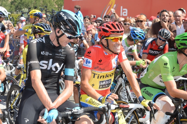 Froome/Contador: Prvi dvoboj februarja na dveh ciljnih vzponih