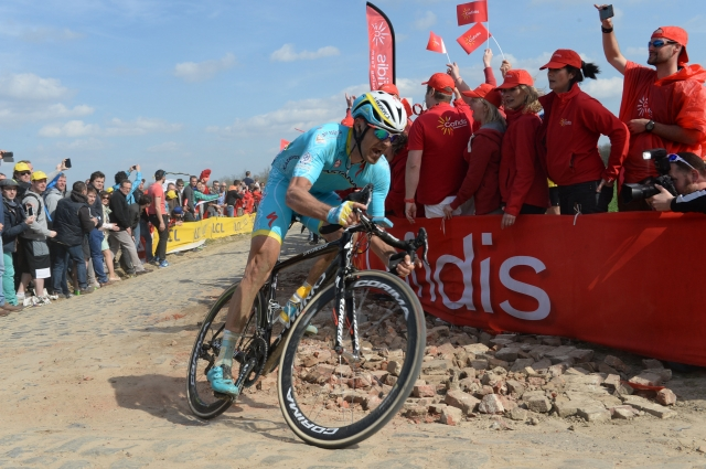 Borut Božič blestel na Roubaixovih tlakovcih, dirka Degenkolbu